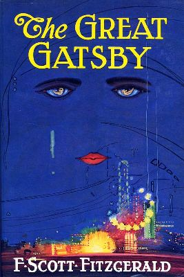 Celestial Eyes, Francis Cugat -- original cover of The Great Gatsby