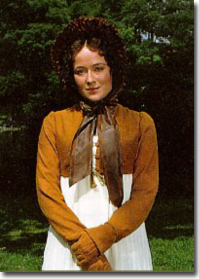 Jennifer Ehle wears a Spencer jacket in Pride and Prejudice