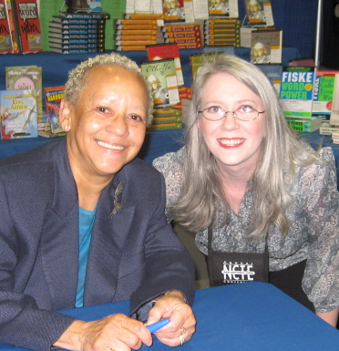 Nikki Giovanni and Dana Huff