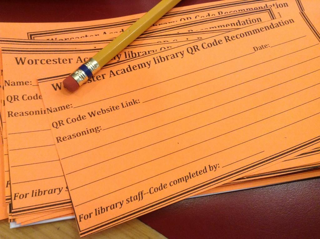 QR Code Suggestions