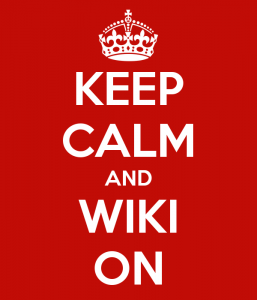 Keep Calm and Wiki On
