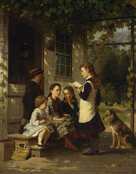 Playing School, William Hahn
